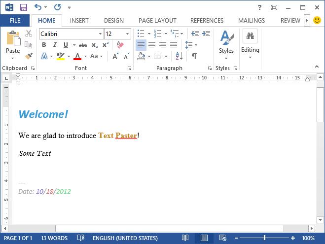 Word 2013 для windows 8